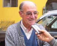 José Martínez párroco de Huaral