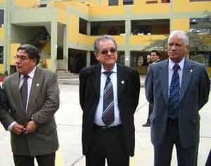 Delegación San Marquina en instalaciones de la Institución Educativa Nuestra Señora del Carmen