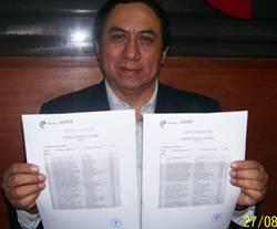Director de la academia Claper Julio Sanchez Mena