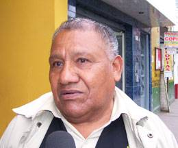 Alcalde de Aucallama Pedro Salguero Dulanto