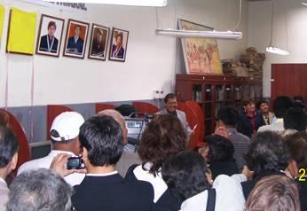 Develacion de galeria de personajes históricos de Huaral
