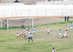 Union Huaral en el estadio Julio Lores Coal