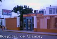 Puerta principal del Hospital de Chancay