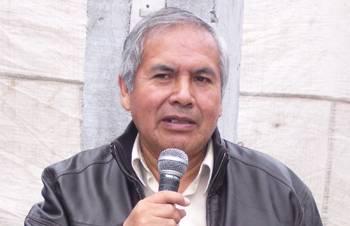 Ex Alcalde de la provincia de Huaral Alejandro Marin Valentin