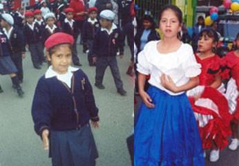 Pamela  Araceli Pérez Cornejo  y Rosa Amelia Pérez Cornejo