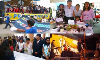 Actividades que se realizaron por el 68 aniversario del distrito de Aucallama