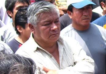Dirigente Transportista, Julio Rojas Napa