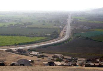 Carretera Huaral - Lima