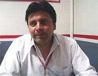 Jefe zonal de Caja Sullana sede Chancay,  José Cajas.