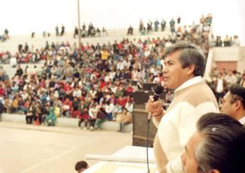Alejandro Marín, ex alcalde de Huaral.