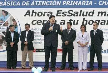 Alocución del mandatario Alan Garcia en Chancay