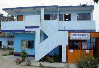 Instalaciones de EMAPA HUARAL.