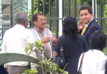Prueba  que confirma que ese  día el Dr. Uribe se encontraba en Lima.