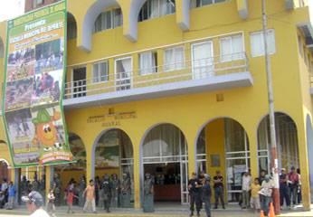 La  Municipalidad de Huaral era resguardado por los serenos.