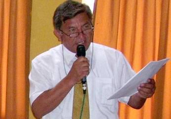Regidor Elías Zorrilla Flores