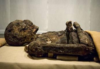 Momia Imhotep, visir de Tebas