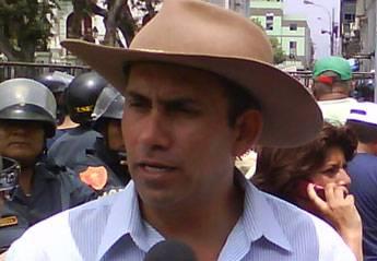 Javier Alvarado Gonzáles del Valle, Alcalde Provincial de Cañete