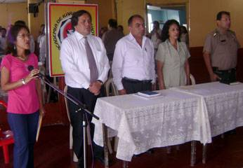 Reunión convocada por el Comité Anticorrupción de Huaral