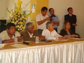 Alcalde provincial participo en evento