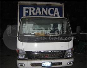 Camión que fue interceptado por los delincuentes.Foto: Rogger la Chira.