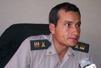 El comisario de Aucallama, Gilbet Noi Willatiz.