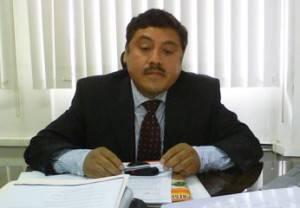 Luís Alberto Llacza, asesor del alcalde de Huaral.