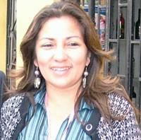 Maryluz Rodriguez, integrante del Centro Federado de Periodista de Huaral.