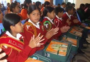 Representantes de municipios escolares.