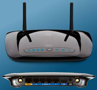 Nuevo router Cisco WRT160NL