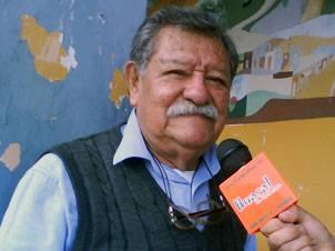 Periodista Aníbal Morales Zampa.