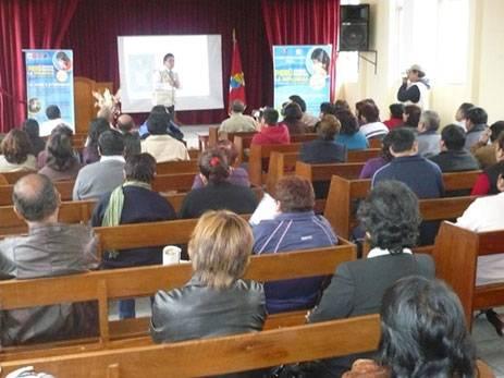 Participaron directores y docentes de  instituciones educativas de la provincia de Huaral.