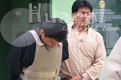 Foto archivo: Captura de José Ramos Konja  sospechoso del asesinato de la dueña del Hostal Venecia en Huaral.