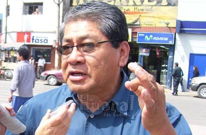 Luis Casas Sebastián ex alcalde de Chancay.