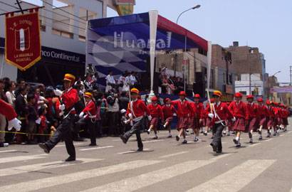 Desfile cívico escolar 2009.