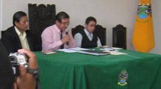 Comisíón de fiesta por aniversario del distrito de Huaral.