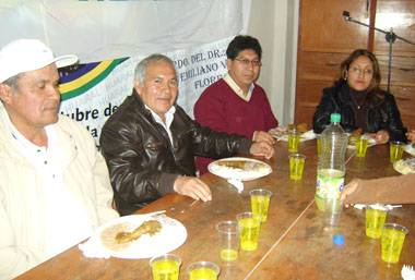 Reunión de confraternidad del Movimiento Democrático Huaralino