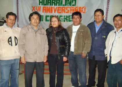 Integrantes de la comisión para la celebración de aniversario FOTO:Huaralenlinea/Carlos Olivares