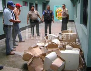 Equipos robados fueron recuperados.