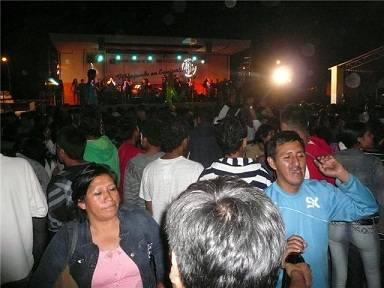Fiesta en Huando.