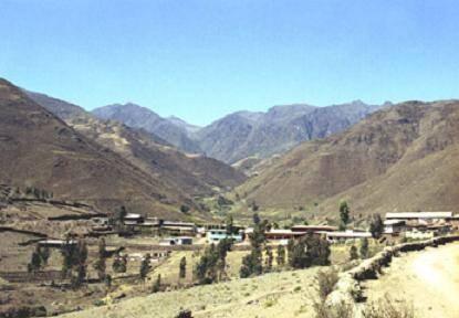 Distrito de Ihuari.