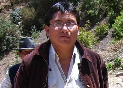 Arturo Sarmiento alcalde de Pacaraos.