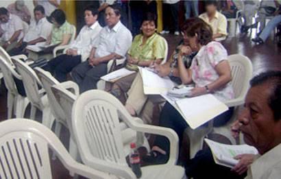 Sesión de Consejo, foto archivo.