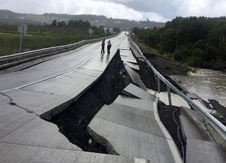 Terremoto de 7,6 causa zozobra en el sur de Chile durante la Navidad