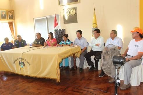 Centro de operaciones de emergencia provincial realiza conferencia de prensa frente a desastres naturales