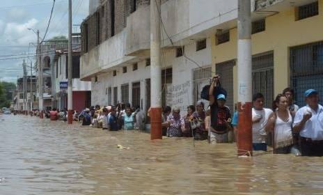Declaran estado de emergencia nacional en Piura por desastre de gran magnitud