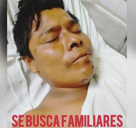 Hombre es hallado en estado inconsciente en el Centro Poblado Huando Huaral.