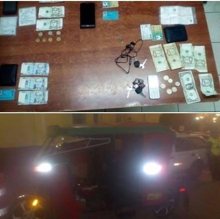 Serenazgo de Huaral recuperan objetos robados a pareja de turistas