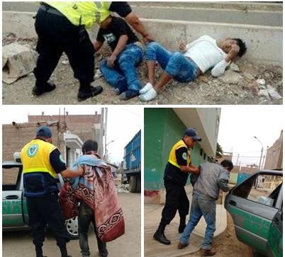 Peperas al acecho por las calles de Huaral