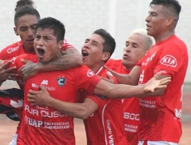 Coopsol y Cienciano empataron 2-2 en Chancay