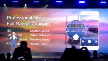 Huawei P9 - Präsentation - London - Leica - Professional Mode